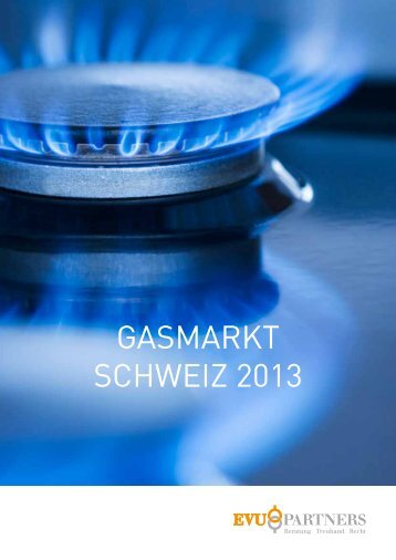 GASMARKT SCHWEIZ 2013 - EVU Partners