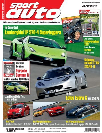 Einzeltest Lotus Evora S_Sport Auto_4_2011 - Exklusive Kollektion