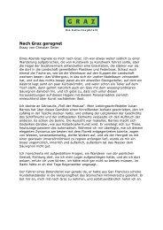 Essay Christian Seiler, PDF - Graz Tourismus