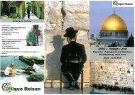 ISRAEL - Heiliges Land - Kolpingwerk Landesverband Oldenburg