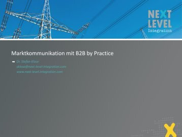 Was ist B2B by Practice? - Next Level Integration