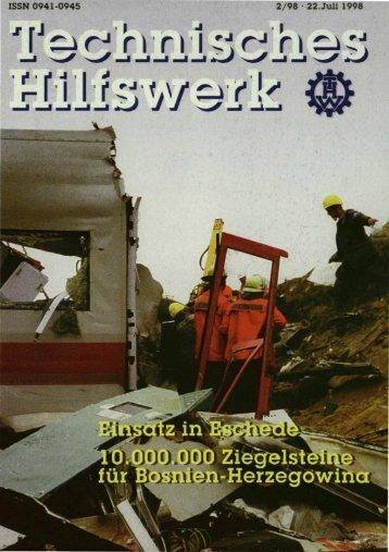 ISSN 0941-0945 2/98 . 22.Juli 1 - THW-historische Sammlung