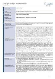 Vermögensanlagen-Informationsblatt (VIB) - Jamestown