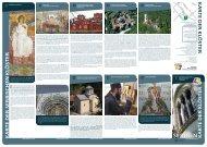 Karte der Klöster Serbiens - mascontour Tourismus Beratung