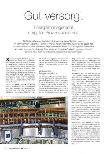 Gut versorgt - Energiemanagement sorgt für ... - Moeller