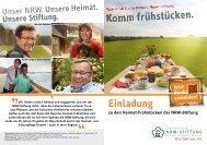 Hier können Sie den Info-Flyer downloaden - NRW-Stiftung