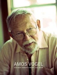 AMOS VOGEL - The Sticking Place