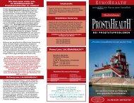 Prospekt (application/pdf) 148 307 bytes - Eurohealth