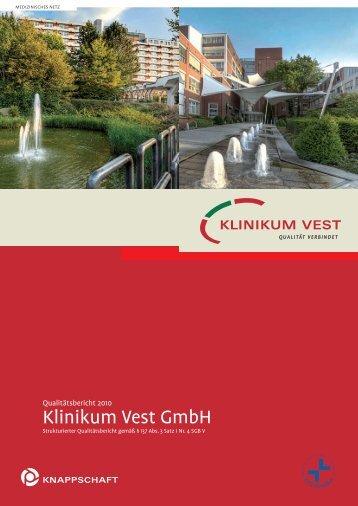 Qualitätsbericht des Jahres 2010 als PDF-Datei