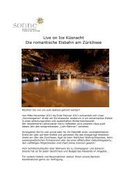 Live on Ice Factsheet 2012-2013 - Romantik Seehotel Sonne ...