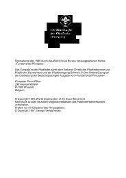 Die Grundlagen der Pfadfinderbewegung - Pfadfinder und ...