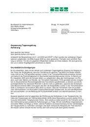 Anpassung Tagesregelung - Schweizerischer Bauernverband