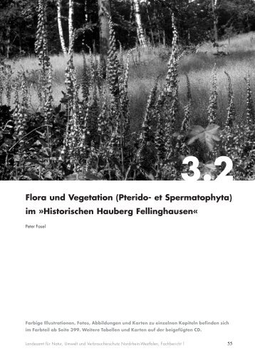 3.2 Flora und Vegetation - LANUV NRW