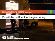 Präsentation Soziale Einrichtungen und Betriebe Zürich - Infodrog