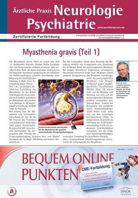 Myasthenia gravis (Teil 1) - Lambert-Eaton-Myasthenisches ...