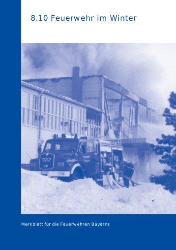 Feuerwehr im Winter - Feuerwehr Manching