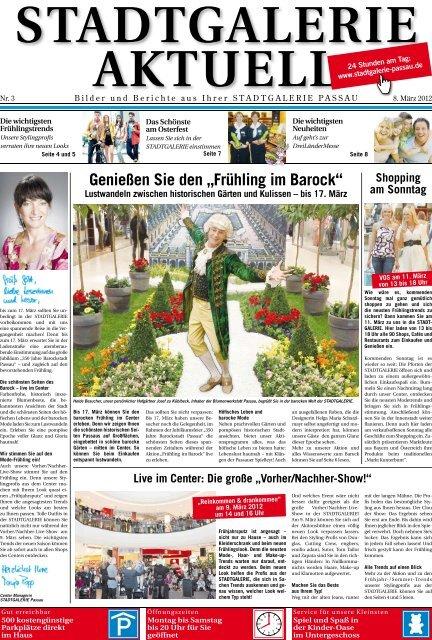 """Genießen Sie den """"Frühling im Barock"""" - Stadtgalerie Passau"""