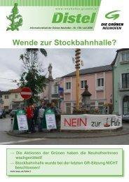 Distel 139 - Die Grünen Neuhofen