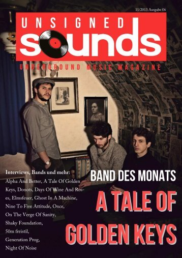 Unsigned Sounds - Underground Music Magazine, Ausgabe 06