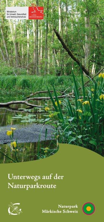 Unterwegs auf der Naturparkroute - im Landkreis Märkisch-Oderland