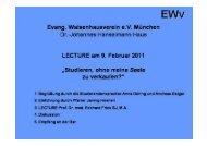 download der Folien zum Vortrag - Ewv-muenchen.de