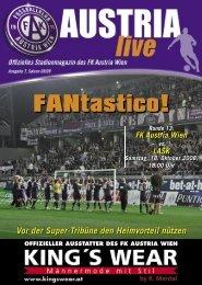 01 COVER - FK Austria Wien
