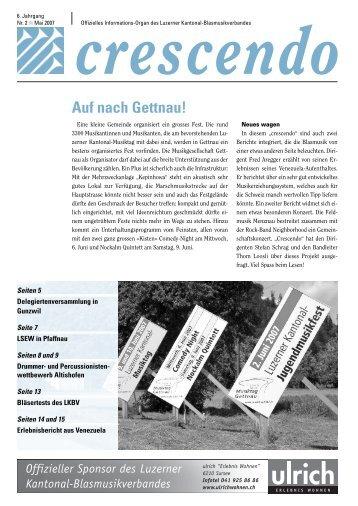 Ausgabe 02/2007 - Luzerner Kantonal-Blasmusikverband