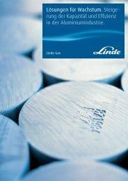 Aluminium Brochure de