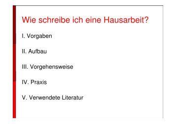 Wie schreibe ich eine Hausarbeit? - Funpic.de