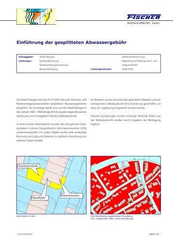 Einführung der gesplitteten Abwassergebühr - EDV