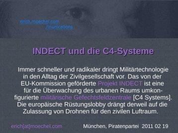 INDECT und die C4-Systeme - Erich Moechel