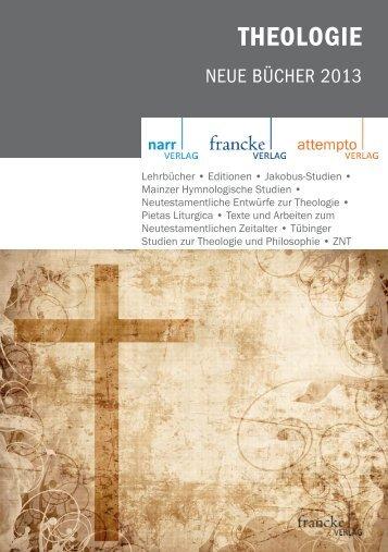 THEOLOGIE - Narr Verlag