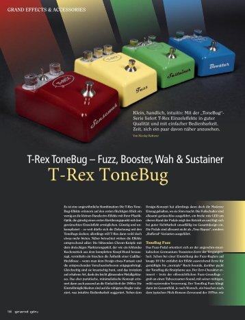 T-Rex ToneBug Serie - MUSIC STORE professional