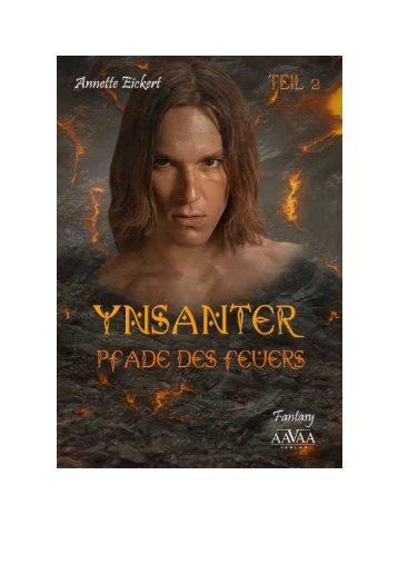 """Leseprobe zu """"Ynsanter (2) – Pfade des Feuers"""