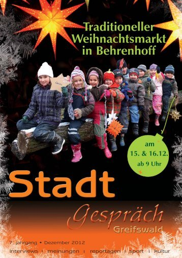 Dezember 2012 - Greifswald