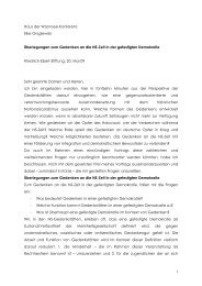 Vortrags - Friedrich-Ebert-Stiftung - Projekt gegen Rechtsextremismus