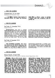 Ausgabe 01/2005 Damals...(Seite 121-133) - 941 KB
