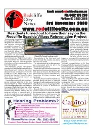 20091103Edition227 - Redcliffe City News
