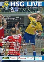 HG Saarlouis SC DHfK Leipzig - HSG Düsseldorf