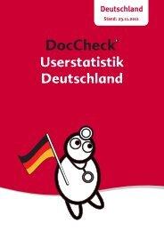 Userstatistik Deutschland - Doccheck
