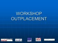 Workshop Outplacement - PowerPoint Präsentation 1