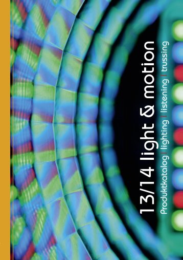 light & motion 2013/14 - LTH-GmbH