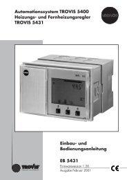 Heizungs- und Fernheizungsregler - Samson AG Mess