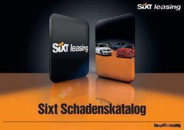 Schadenkatalog - Sixt