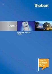 Prospekt CONEXA - Smart-metering-theben.de