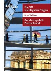 Die 101 wichtigsten Fragen - Bundesrepublik ... - Die Onleihe
