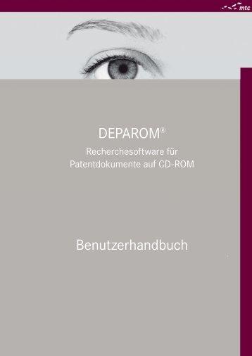 DEPAROM Handbuch 5.8.0