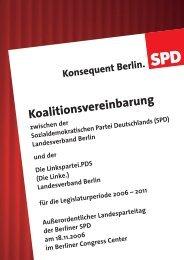 Entwurf des Koalitionsvertrages (PDF, 483 kb) - Lars Oberg