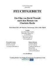 FEUCHTGEBIETE - Luna Filmverleih