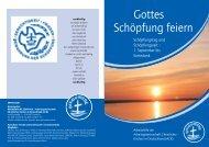 Schıpfung feiern PDF - Arbeitsgemeinschaft Christlicher Kirchen in ...
